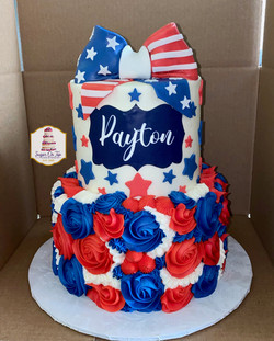 payton 4th of july cake