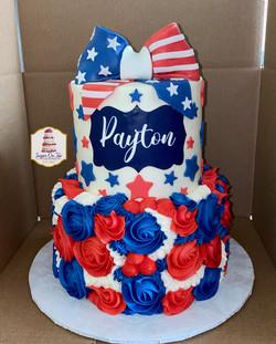 payton 4th of july cake