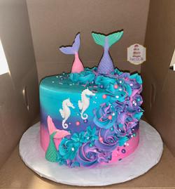 huff mermaid cake