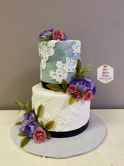 jeneshia wedding cake