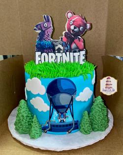 wilson fortnite cake