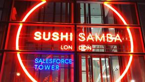 SUSHI SAMBA - LONDON