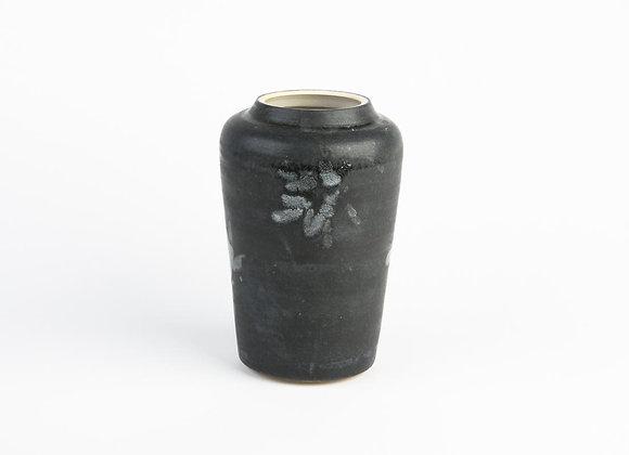 Vase konisch anthrazit