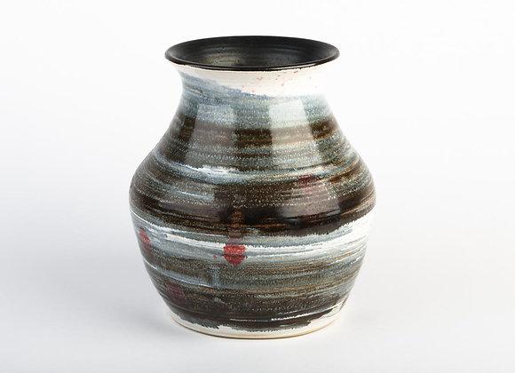 Grosse Vase mit weitem Hals