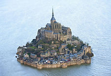 Le Mont Saint-Michel en Normandie