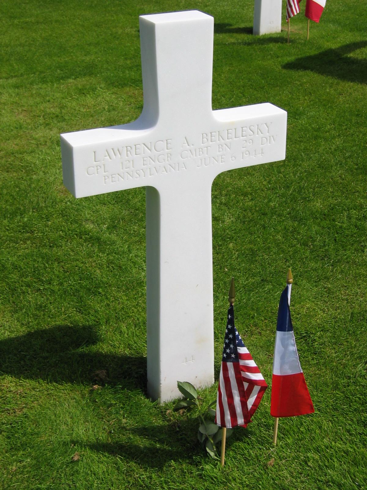 Cimetière Américain, Normandie