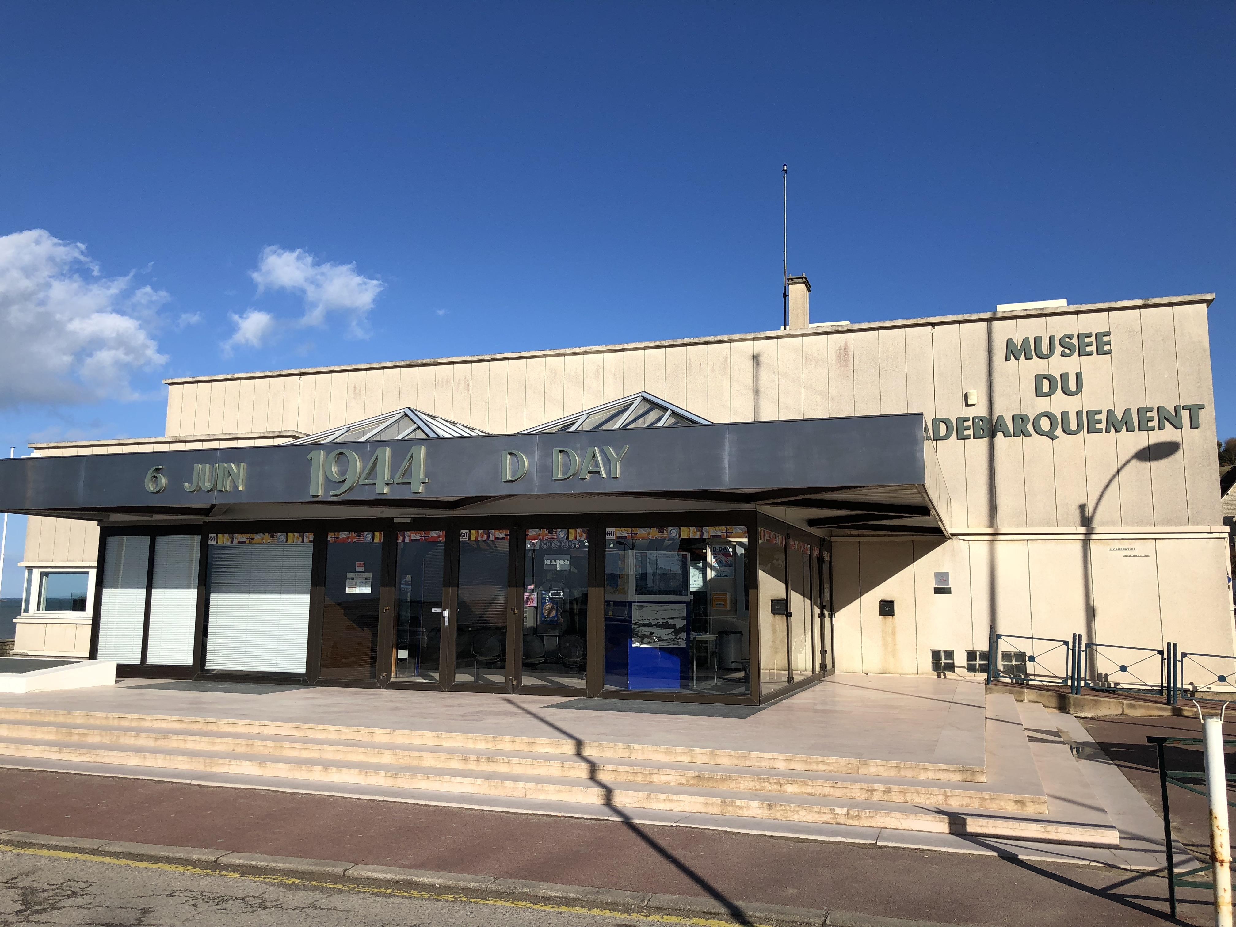 Musée du Débarquement d'Arromanches.