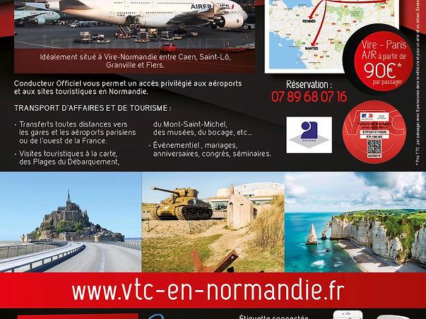 Flyer Conduteur Officiel VTC