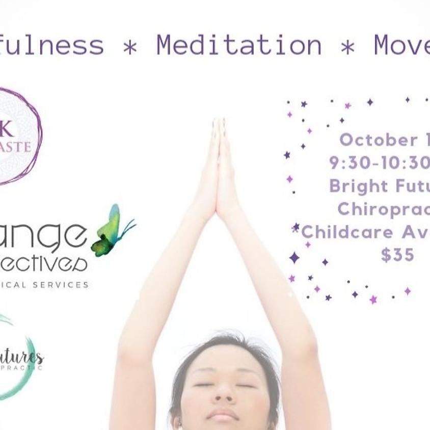 A Mom's Morning - Mindfulness, Meditation, & Movement