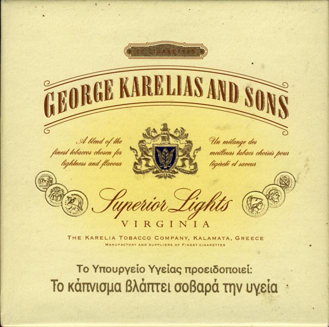 George karelias and sons купить сигареты электронная сигарета заказать в волгограде
