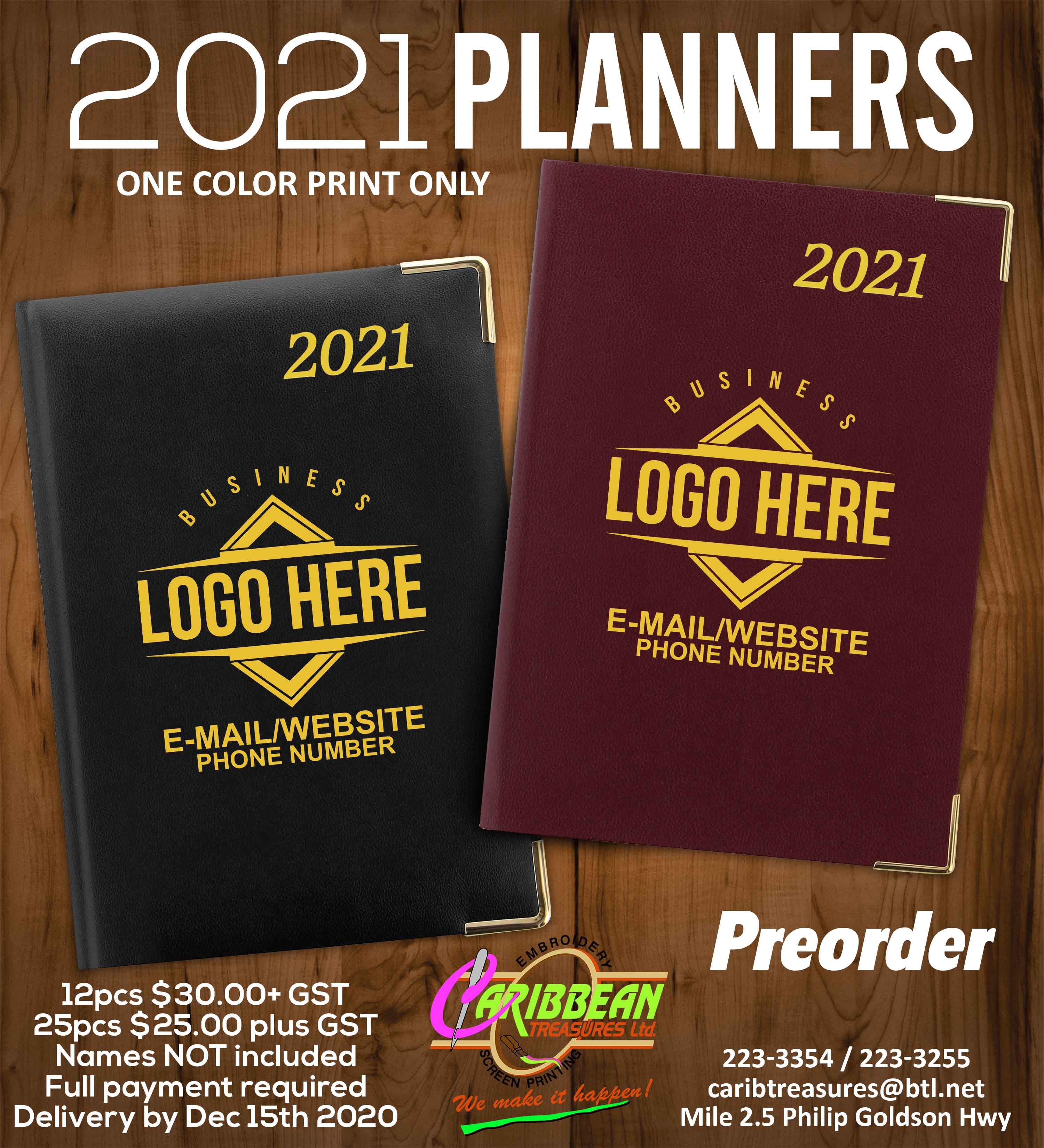 Planner flyer