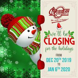 CT Closing Date 2019