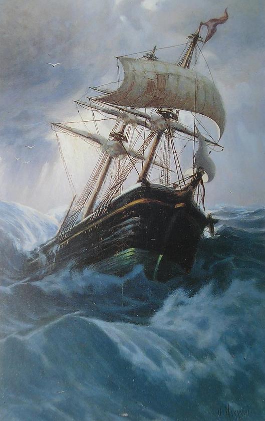 Manaresi, Veliero nella tempesta.png