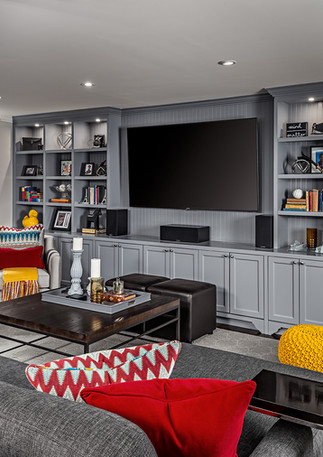 Basement Built-In