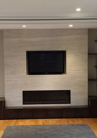 Modern Living Room Wall