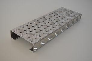 Caillebotis aluminium