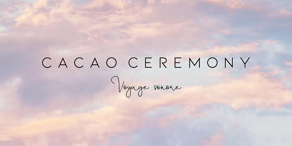 Cacao New Moon Voyage Sonore