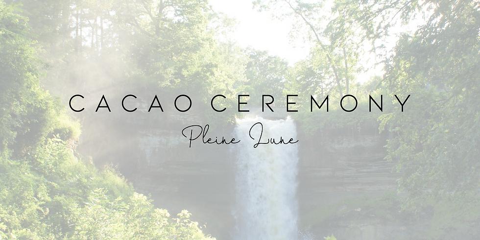 Cérémonie du cacao Pleine Lune & Musique live