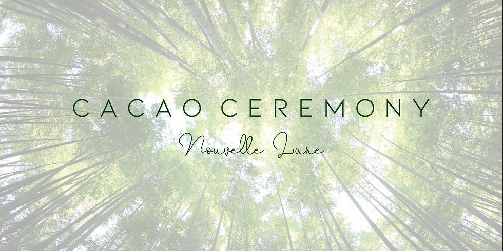 Cérémonie du cacao Nouvelle Lune & Musique Live