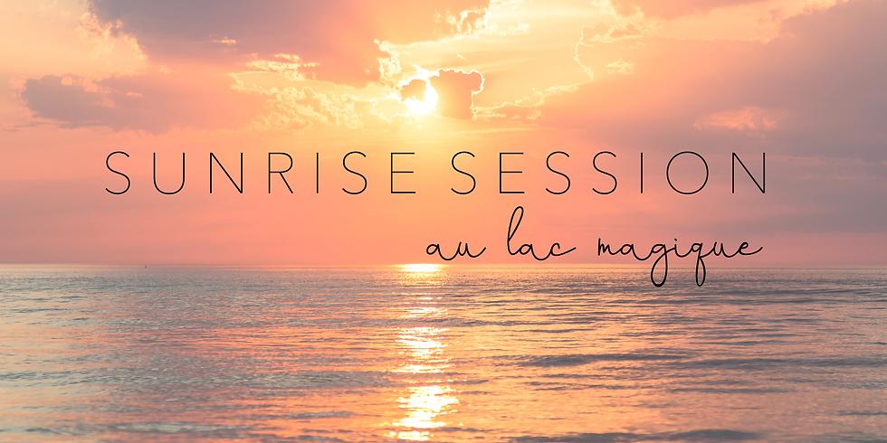 Sunrise Session Full Moon