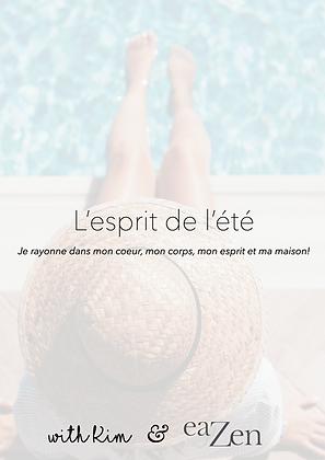 """E-Book """"L'esprit de L'Été"""""""