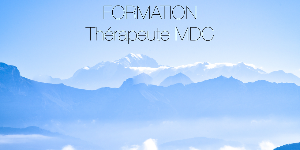 Formation thérapeute MDC 2019