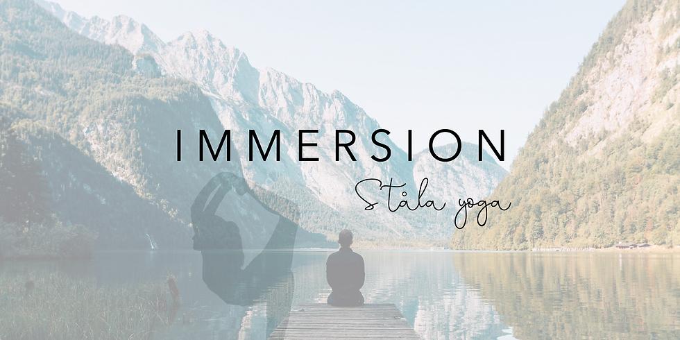 Immersion Stråla yoga
