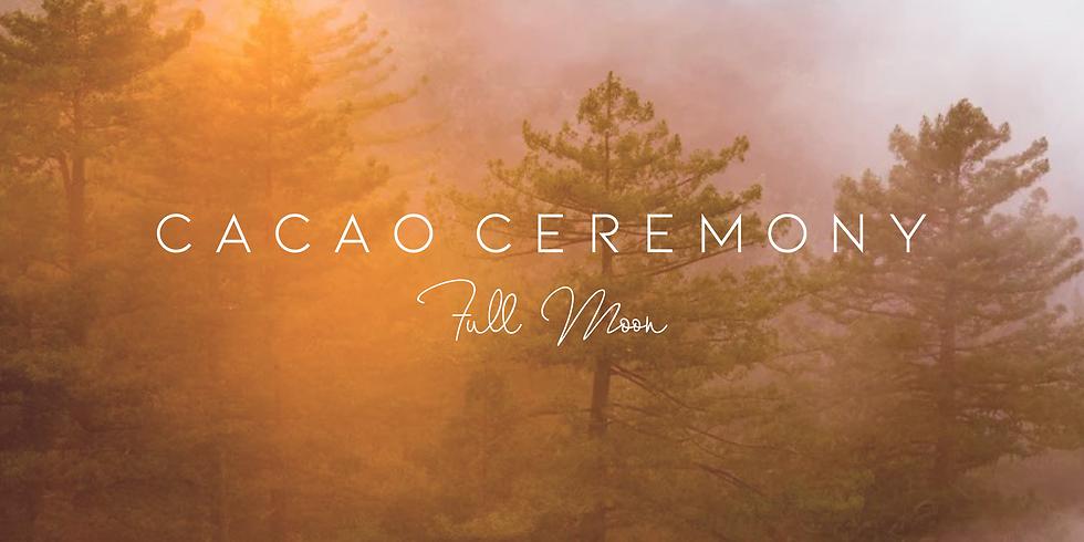Cérémonie du cacao pleine lune