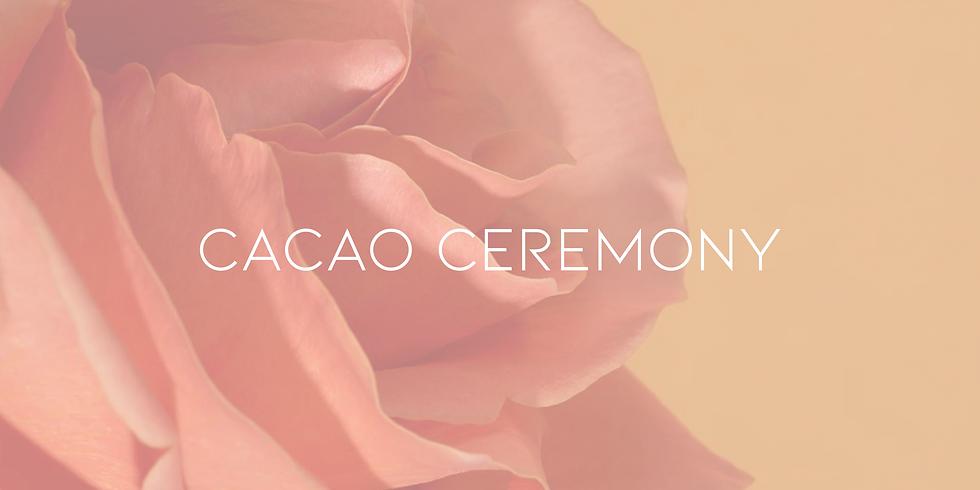 Cacao Ceremony Full Moon