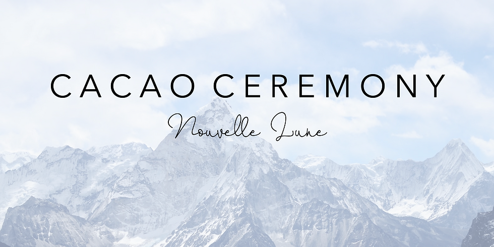 (Complet) New Moon Cacao Ceremony