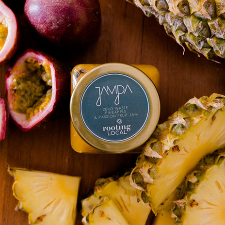 Zero Waste Pineapple & Passion Fruit Jam