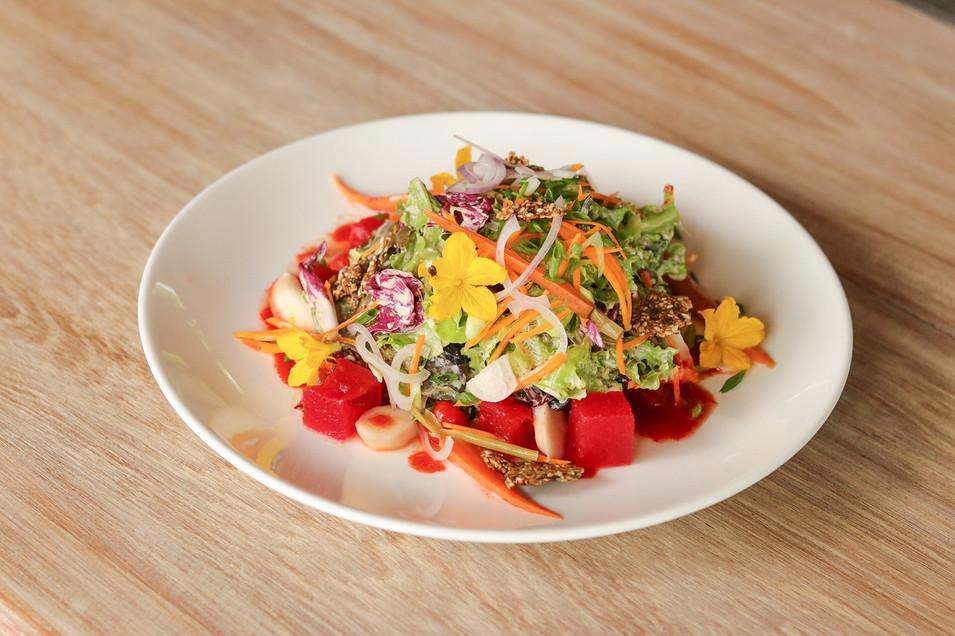 Harvest Salad with Sesame Vinaigrette