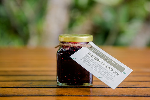 Mulberry and Flower Jam