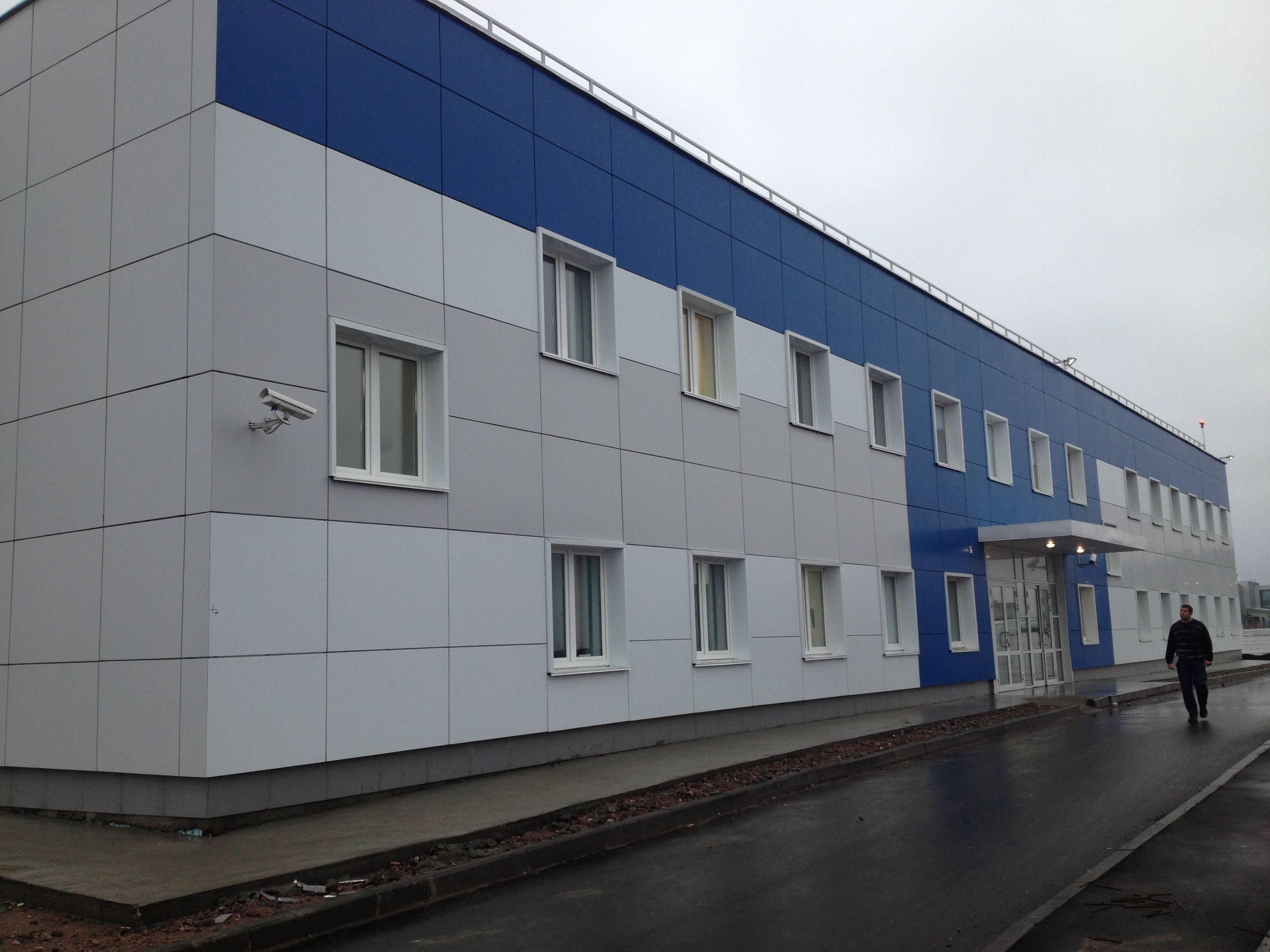 Pulkovo Airport GSE Building