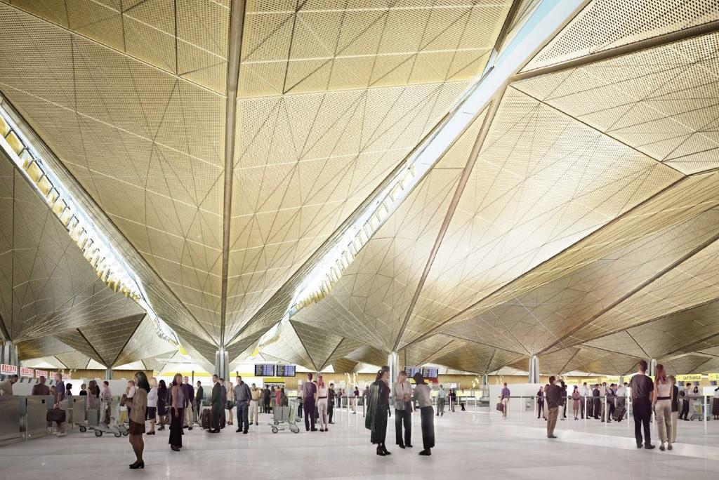 Pulkovo Airport New Terminal