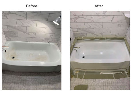tub before after.JPG