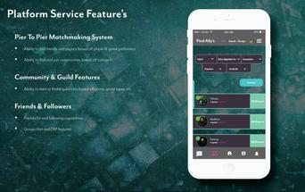 chimera social gaming platform behance_P