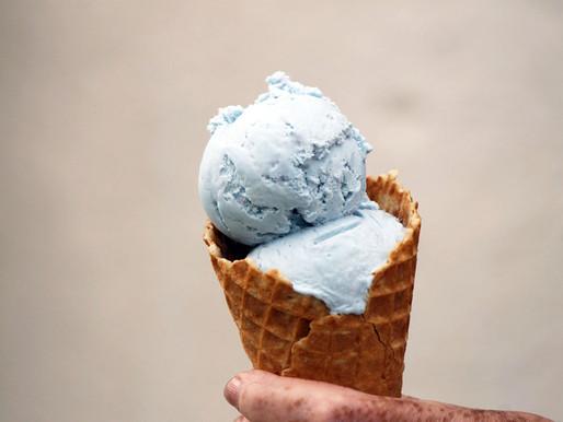 Spirulina and Ice Cream
