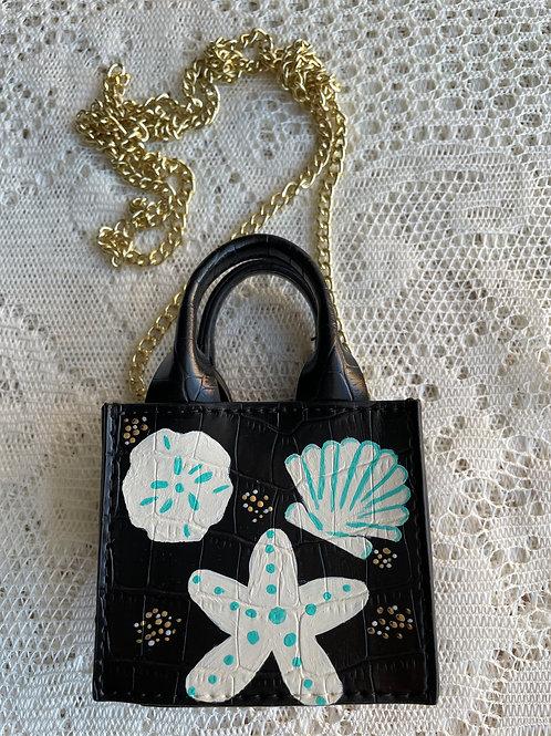 GWEN~Vegan Leather Necklace MICRO Mini Bag