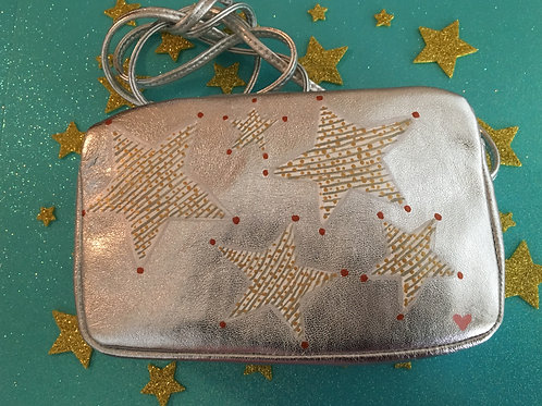 JACKIE~ Leather Crossbody Mini Handbag