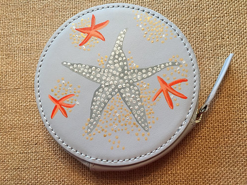 KRISTIN ~ Leather Circle Wallet