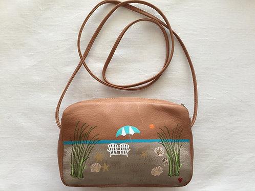 CHELSEA~ Leather Crossbody Mini Handbag