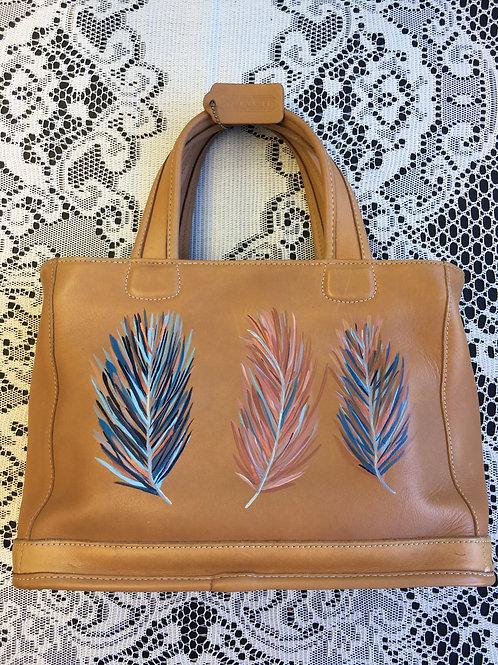 THIA~ Vintage COACH Leather Handbag
