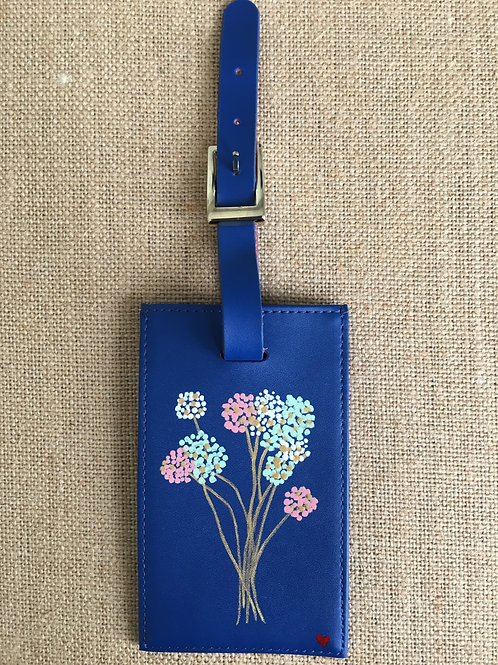 BELLA: leather luggage tag