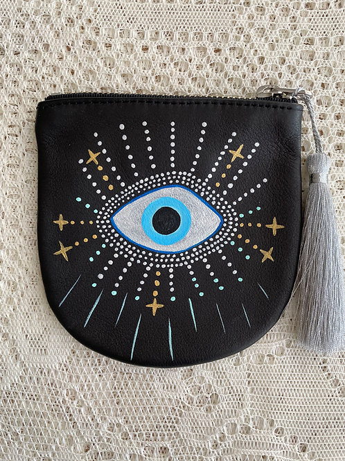 LISA J ~ Leather Coin Pouch