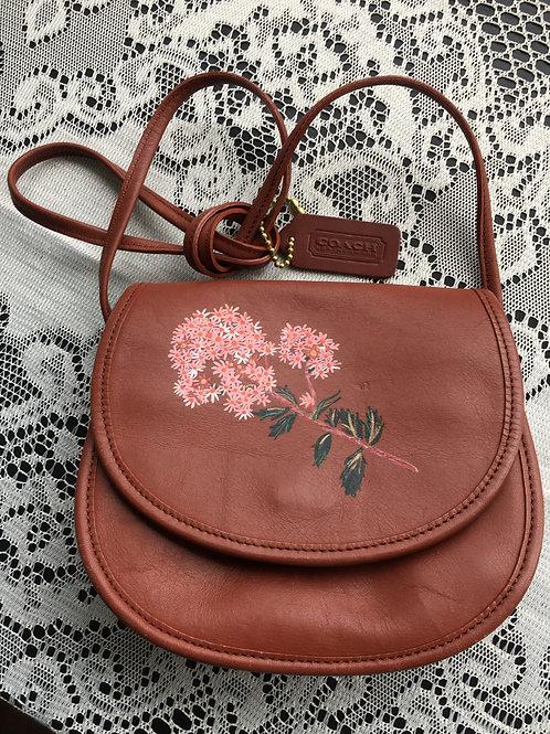 NAOKO: vintage leather crossbody