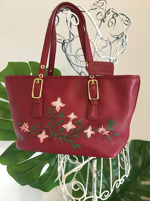 BRITTANY~Vintage COACH Mini Market Handbag