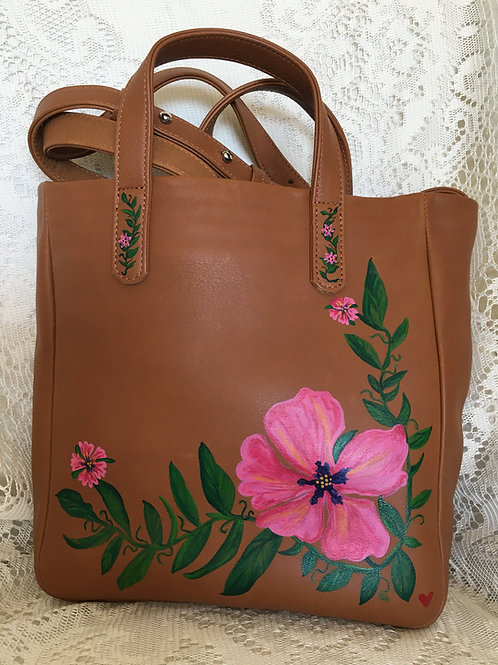 MAJELLA~ Leather Box Handbag