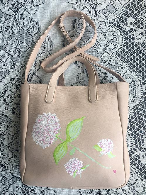 GRACE~ Leather Box Handbag
