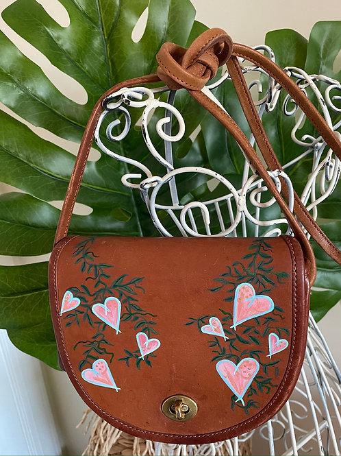 BRIELLE~Vintage COACH Mini Crossbody Handbag